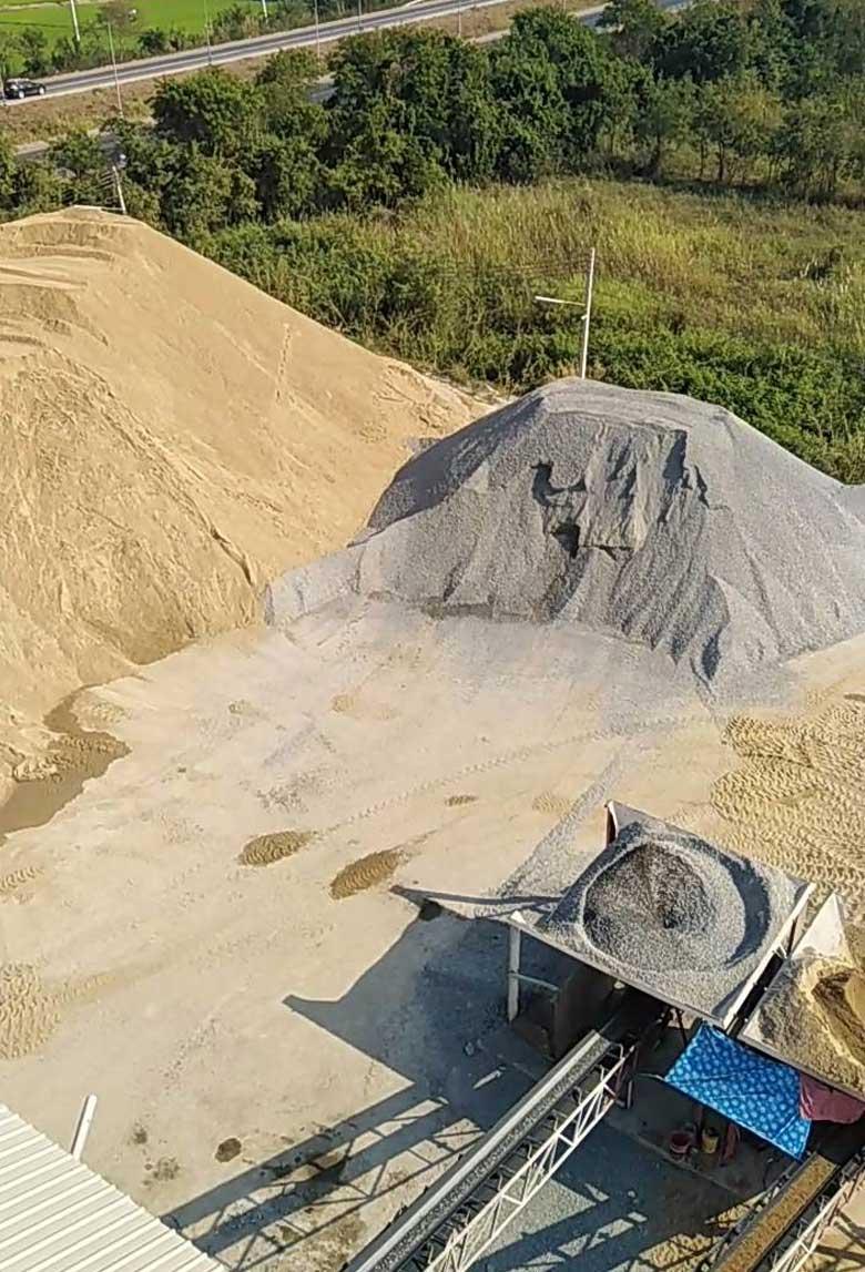 เจมส์คอนกรีต-หิน-ทราย